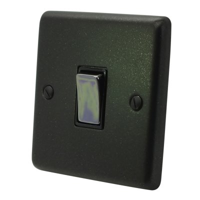Timeless Black Graphite Timeless Flex Outlet Plate
