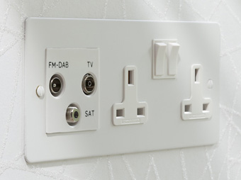 Despoke Audio Visual Sockets and Switches